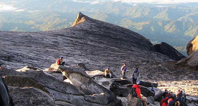 mountain climbing and hiking