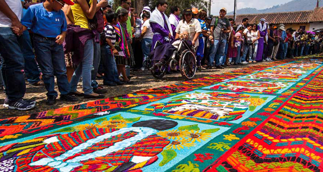 Photo holy week carpet in antigua guatemala 169 loca4motion