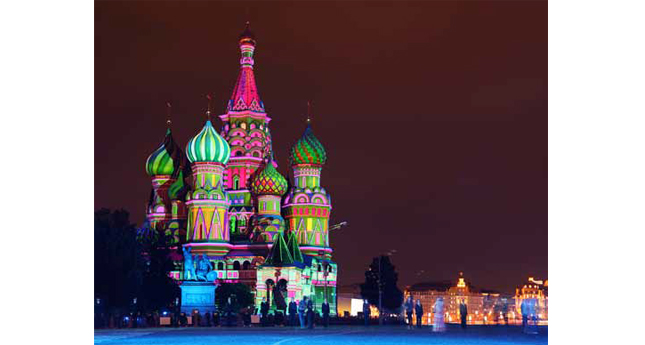 St. Basil's Cathedral in Red Square