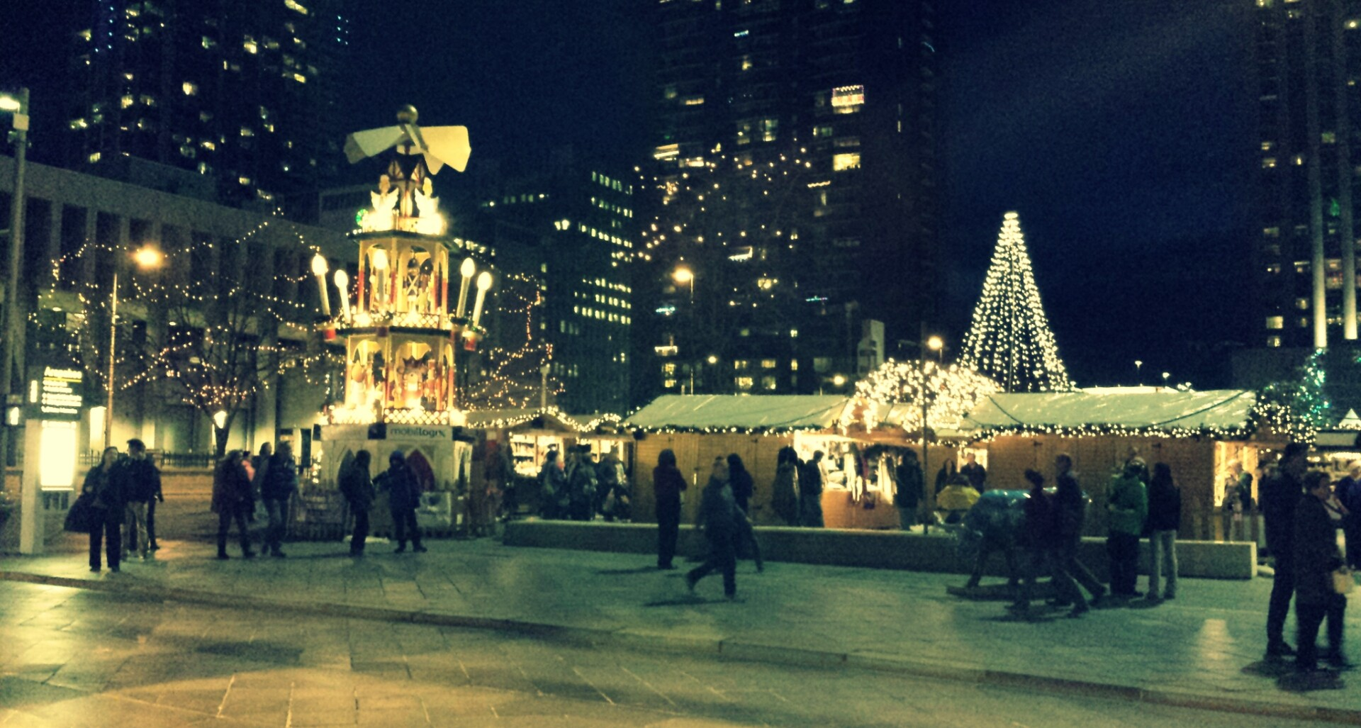 top 5 christmas markets in the united states