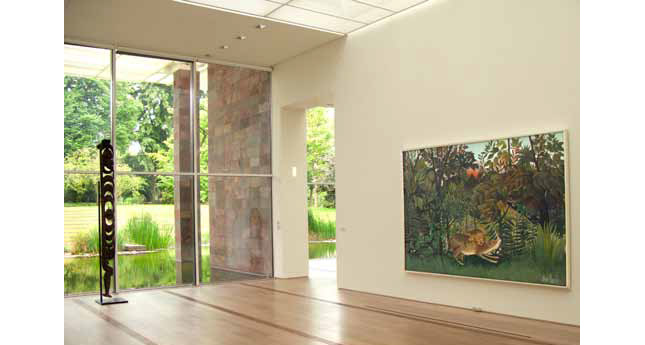 The Rousseau room at the Fondation Beyeler