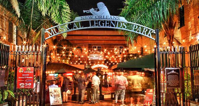 Musical Legends Park, Bourbon Street