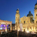 Open-air concert at Odeonsplatz