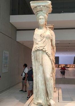 Caryatid in the Acropolis Museum