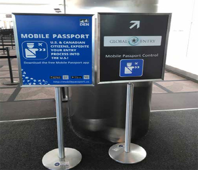 Denver International Airport is the first to partner with the Mobile Passport Control app to help travelers breeze through customs.