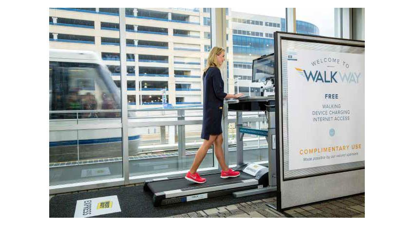 Airport wellness