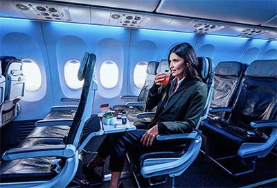 Premium Class © ALASKA AIRLINES