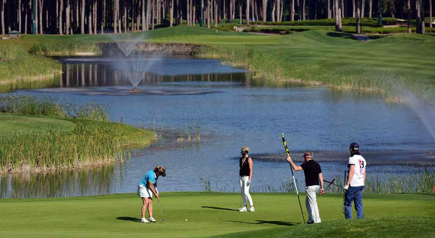 Golf in Belek © THE MINISTRY OF CULTURE AND TOURISM OF THE REPUBLIC OF TURKEY