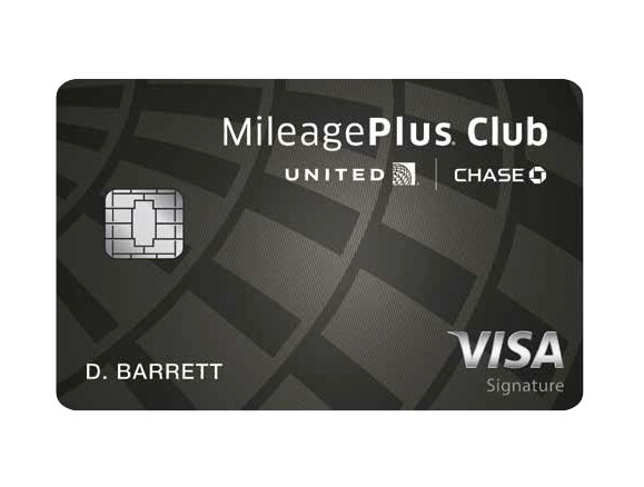 Best Overall Credit Card and Best Credit Card Rewards Program © UNITED MILEAGEPLUS CLUB CARD FROM CHASE