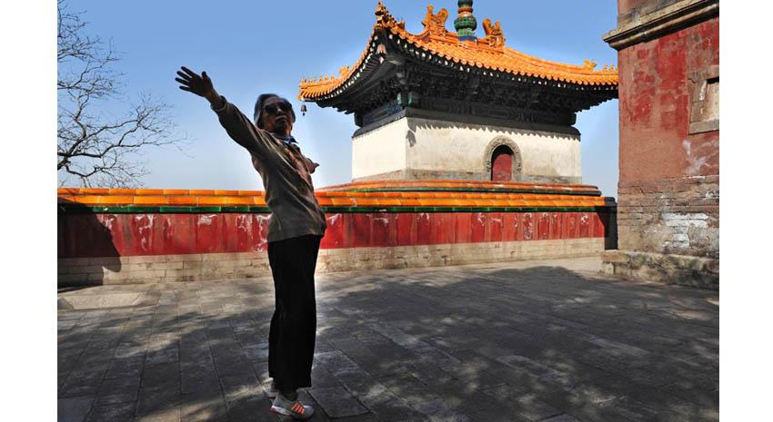 Tai chi at Longevity Hill at the Summer Palace in Beijing © RAFAEL BEN ARI | DREAMSTIME.COM