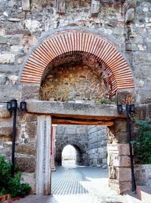 Ancient Amasra Castle gate
