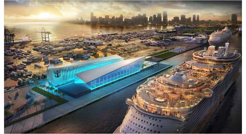 Royal Caribbean's new terminal in Miami