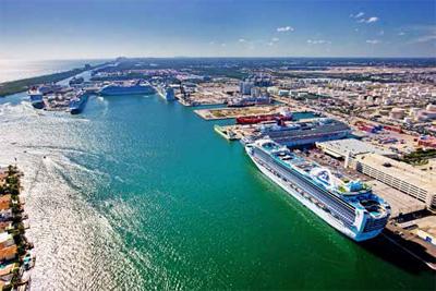 Fort Lauderdale's Port Everglades