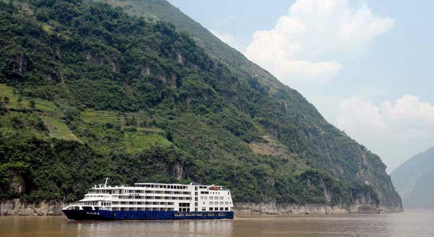 Uniworld's Sanctuary Yangzi Explorer © UNIWORLD BOUTIQUE RIVER COLLECTION
