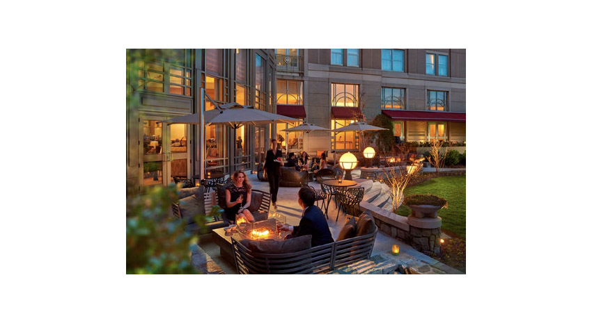 The Empress Lounge and Terrace at the Mandarin Oriental, Washington D.C.