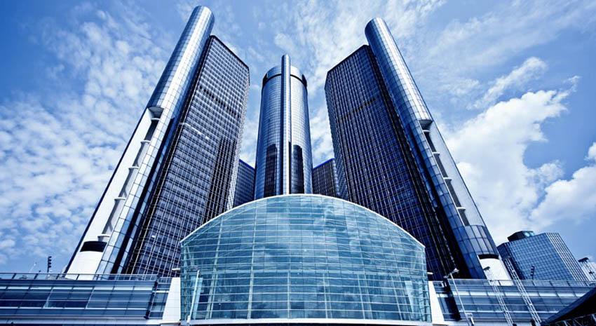 Downtown Detroit GM Headquarters