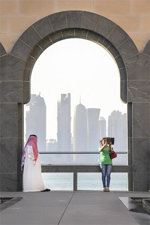 Different cultures in Doha