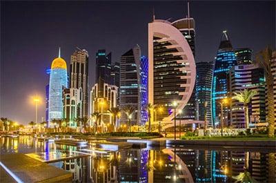 Modern Doha © FITRIA RAMLI | DREAMSTIME