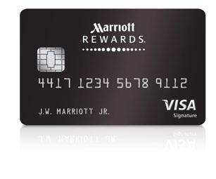 © MARRIOTT REWARDS VISA SIGNATURE CARD