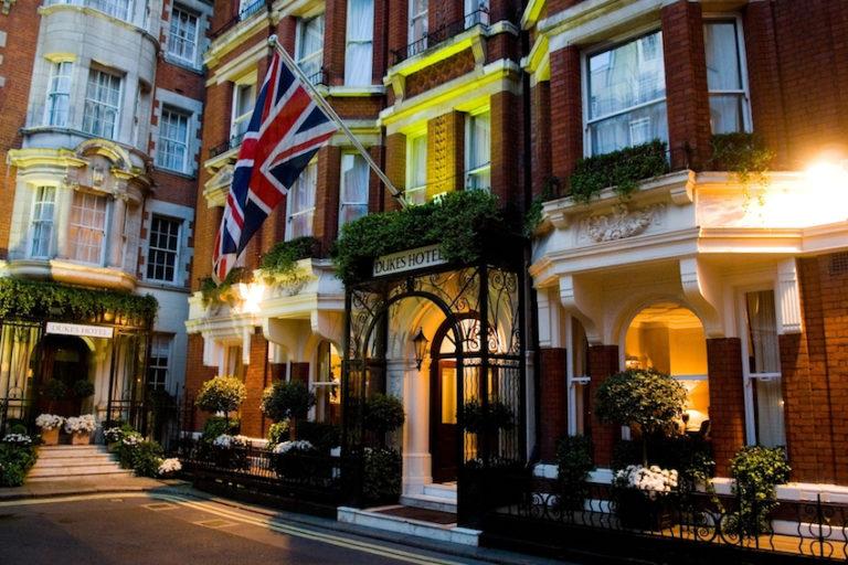 Hotel Entrance © DUKES London