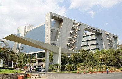 Cyber Gateway office complex in HITEC City