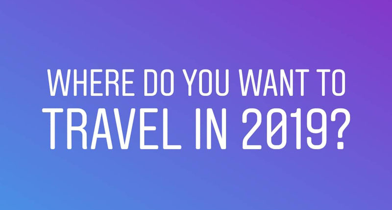 2019 travel
