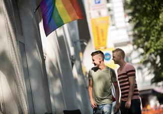 Couple in Nollendorfplatz
