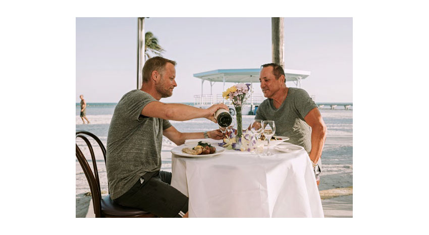 Key West alfresco dining © MONROE COUNTY TOURIST DEVELOPMENT COUNCIL