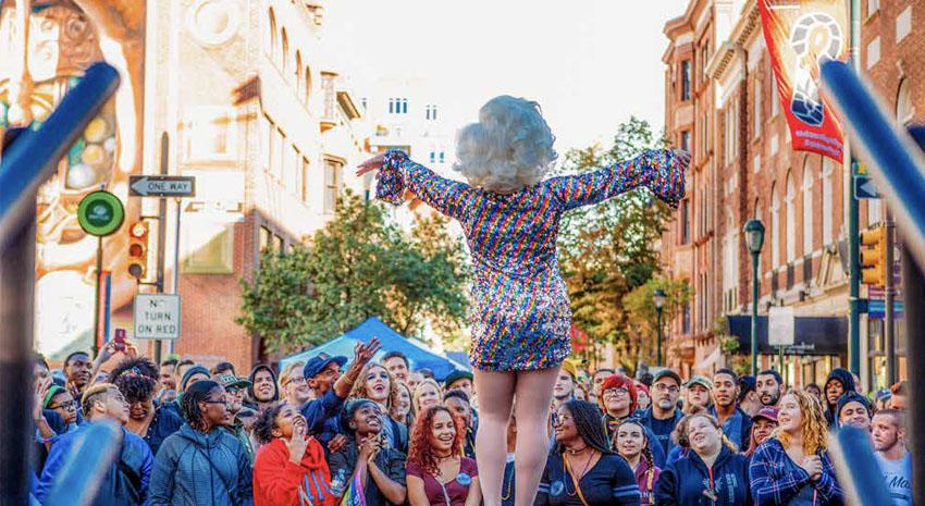 Outfest © J. FUSCO FOR VISIT PHILADELPHIA