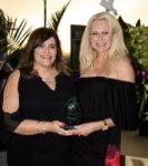 Marilys Ward, strategic marketing manager, Celebrity Cruises; Cynthia Rose, regional marketing manager, Celebrity Cruises