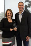 Kate Gebo, vice president, office of the CEO, and Mark Krolick, vice president of marketing, United Airlines