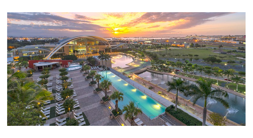 View of the Convention Center from Sheraton Puerto Rico Hotel & Casino