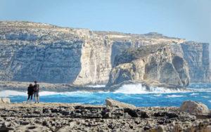 Cliffs of San Lawrenz, Gozo