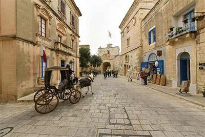 A street in Mdina