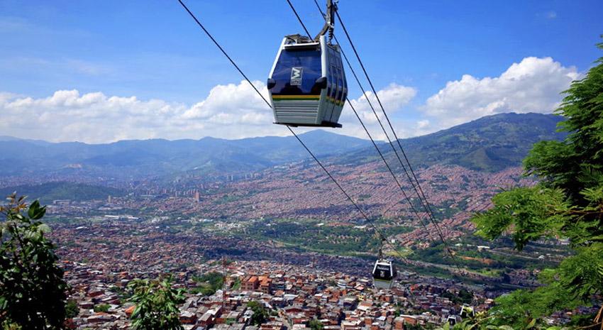 Medellín cable car