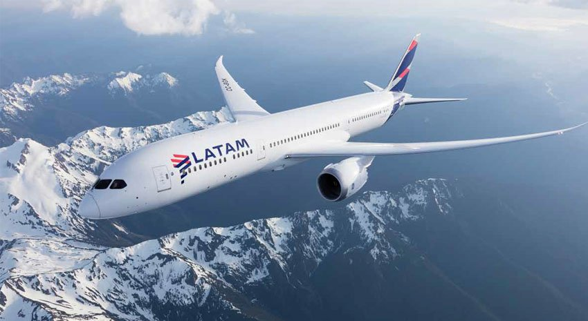 Best Airline to South America © LATAM