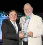 Offer Nissenbaum, managing director, The Peninsula Beverly Hills; Terry Waite