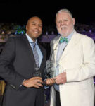 Damion Rose, director, marketing promotions, South African Airways; Terry Waite