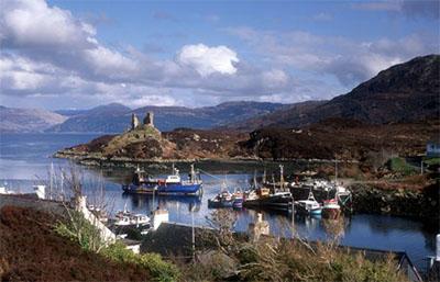 Isle of Skye harbor