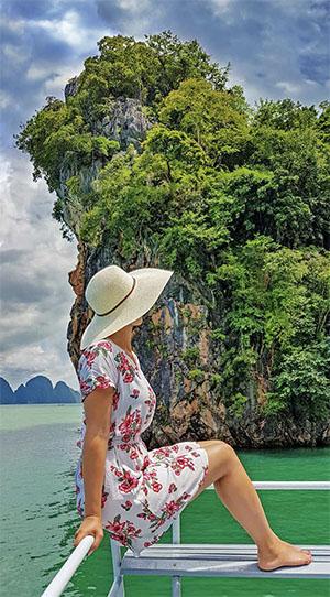 Boat trip in Phang Nga, Phuket