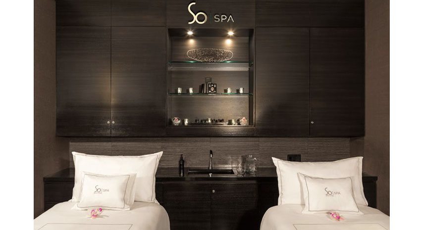 Couple's treatment room PHOTO: © SOFITEL LOS ANGELES AT BEVERLY HILLS