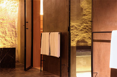 Spa sauna © HOTEL JULIEN