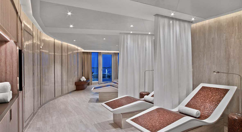 Spa relaxation PHOTO: © SEABOURN