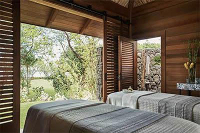 Spa beds © FOUR SEASONS RESORT OAHU AT KO OLINA