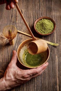 Matcha tea used for the tea ceremony © GRAFVISION | DREAMSTIME.COM