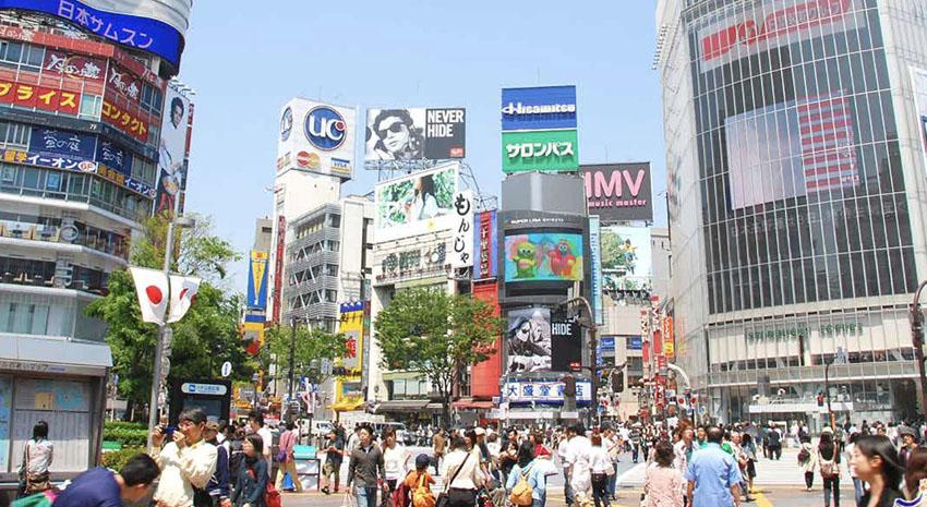 Shibuya Crossing © JNTO