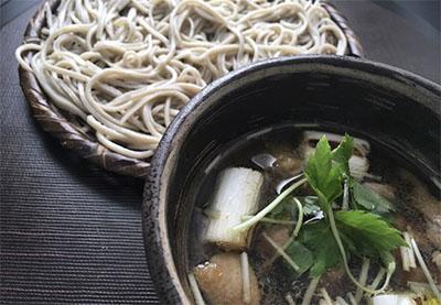 Guests learn to make buckwheat soba noodles at Tsukiji Soba Academy