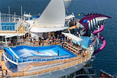FAVORITE CRUISE LINE: Royal Caribbean International © ROYAL CARIBBEAN INTERNATIONAL