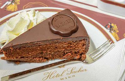 Hotel Sacher's famous torte