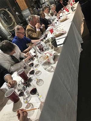 Wine judges